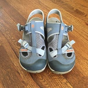 Teva Itunda Water Shoes Sandals in Ashley Blue 10